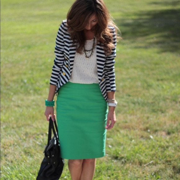 The Limited Dresses & Skirts - Green pencil skirt- the limited